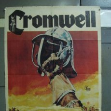 Cine: CDO 422 CROMWELL RICHARD HARRIS ALEC GUINNESS POSTER 70X100 ORIGINAL ESTRENO. Lote 195226786