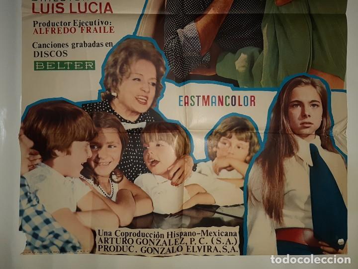 Cine: CARTEL CINE ENTRE DOS AMORES MANOLO ESCOBAR 1972 C 560 - Foto 3 - 195242032