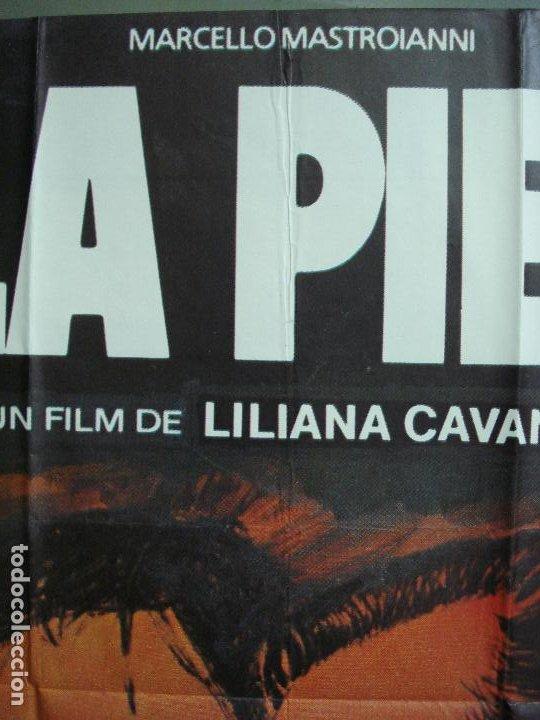 Cine: CDO 430 LA PIEL LILIANA CAVANI MASTROIANNI BURT LANCASTER CARDINALE POSTER ORIGINAL 70X100 ESTRENO - Foto 2 - 195271876