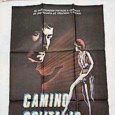 Cinéma: CAMINO SOLITARIO. CARTEL. DIRIGIDA POR JESÚS FRANCO CON ANTONIO MAYANS, LINA ROMAY. Lote 195297456