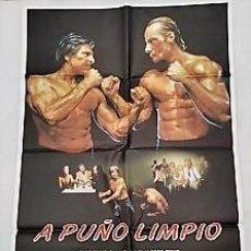 Cine: A PUÑO LIMPIO. CARTEL. DIRIGIDA POR FRANK ZUNIGA CON JORGE RIVERO, EDWARD ALBERT, BRENDA BAKKE. Lote 195298231