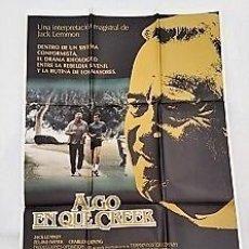 Cine: ALGO EN QUE CREER. CARTEL. DIRIGIDA POR GLENN JORDAN CON JACK LEMMON, ZELJKO IVANEK, CHARLES DURNING. Lote 195299073