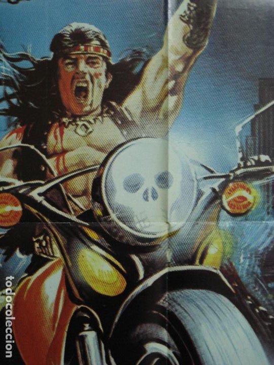 Cine: CDO 434 1990 LOS GUERREROS DEL BRONX ENZO G. CASTELLARI SCI-FI POSTER ORIGINAL 70X100 ESTRENO - Foto 10 - 195299972