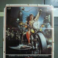 Cine: CDO 434 1990 LOS GUERREROS DEL BRONX ENZO G. CASTELLARI SCI-FI POSTER ORIGINAL 70X100 ESTRENO. Lote 195299972