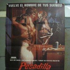 Cine: CDO 440 PESADILLA EN ELM STREET 2 LA VENGANZA DE FREDDY ROBERT ENGLUND POSTER ORIG 70X100 ESTRENO. Lote 195301413