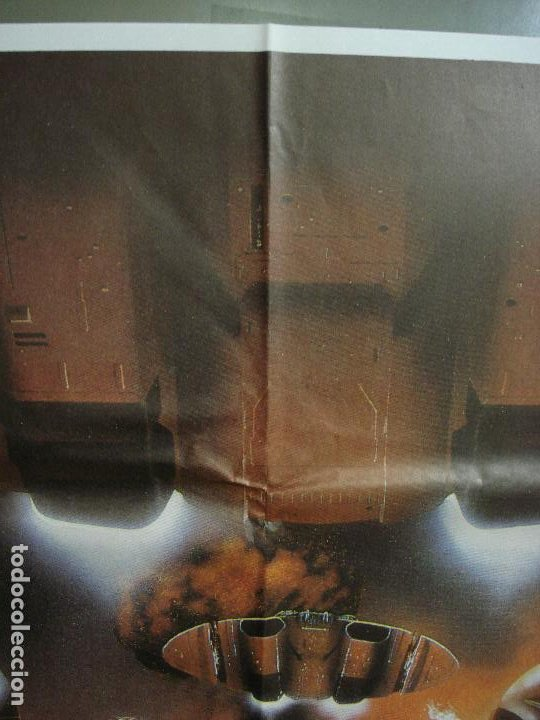 Cine: CDO 442 GALACTICA LA CONQUISTA DE LA TIERRA POSTER ORIGINAL 70X100 ESTRENO - Foto 2 - 195301873