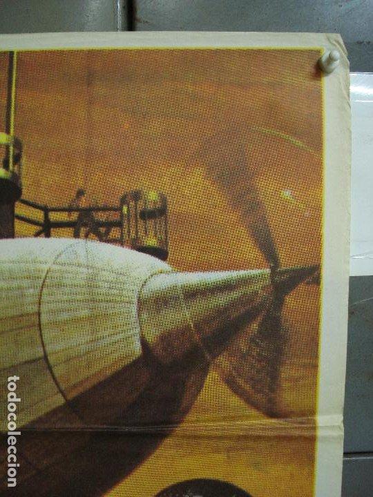 Cine: CDO 453 EL AMO DEL MUNDO VINCENT PRICE JULIO VERNE CIENCIA FICCION POSTER ORIG 70X100 ESPAÑOL R-82 - Foto 2 - 195306193