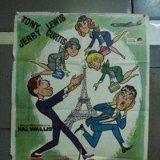 Cine: CDO 455 BOEING BOEING JERRY LEWIS TONY CURTIS POSTER ORIGINAL 70X100 ESTRENO. Lote 195308838