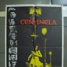 Cine: CDO 456 EL CENTINELA AVA GARDNER CHRIS SARANDON TERROR POSTER ORIGINAL 70X100 DEL ESTRENO. Lote 195309410