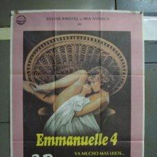 Cine: CDO 457 EMMANUELLE 4 3D SYLVIA KRISTEL EROTICO POSTER ORIGINAL 70X100 ESTRENO. Lote 195309458