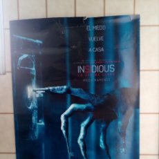 Cine: CARTEL CINE INSIDIOUS - LA ULTIMA LLAVE - 98X68. Lote 195310796