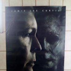 Cine: CARTEL CINE LA NOCHE DE HALLOWEEN - JAMIE LEE CURTIS - 98X68. Lote 195311082