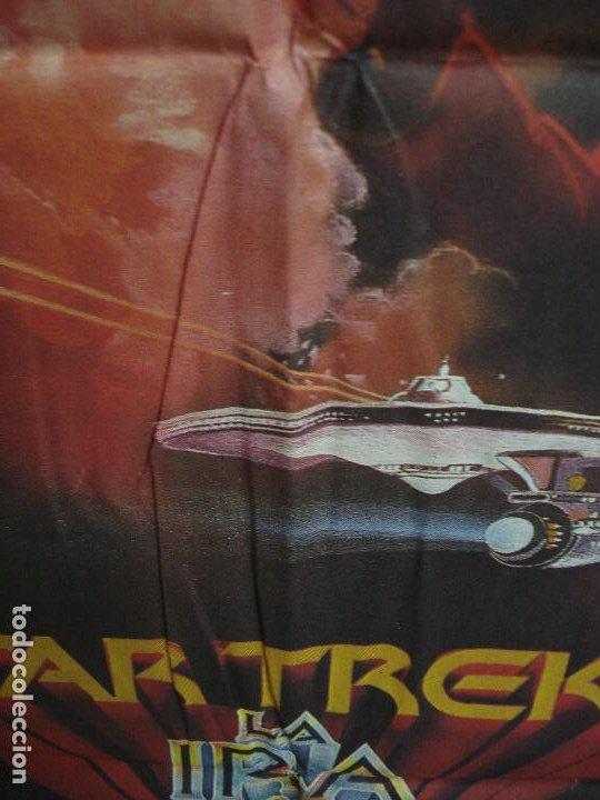 Cine: CDO 463 STAR TREK 2 LA IRA DE KHAN SHATNER NIMOY BOB PEAK POSTER ORIGINAL 70X100 ESTRENO - Foto 5 - 195313680