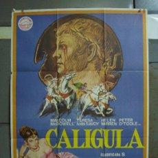 Cine: CDO 464 CALIGULA TINTO BRASS MALCOM MCDOWELL JANO POSTER ORIGINAL 70X100 ESTRENO. Lote 195314107