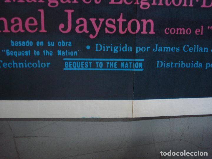 Cine: CDO 468 LEGADO DE UN HEROE GLENDA JACKSON PETER FINCH POSTER ORIGINAL 70X100 ESTRENO - Foto 9 - 195315968