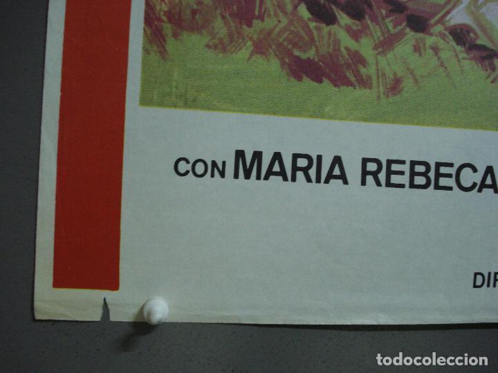 Cine: CDO 474 LA NIÑA DE LA MOCHILA AZUL PEDRITO FERNANDEZ JANO POSTER ORIGINAL 70X100 ESTRENO - Foto 2 - 195318367