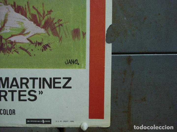 Cine: CDO 474 LA NIÑA DE LA MOCHILA AZUL PEDRITO FERNANDEZ JANO POSTER ORIGINAL 70X100 ESTRENO - Foto 3 - 195318367