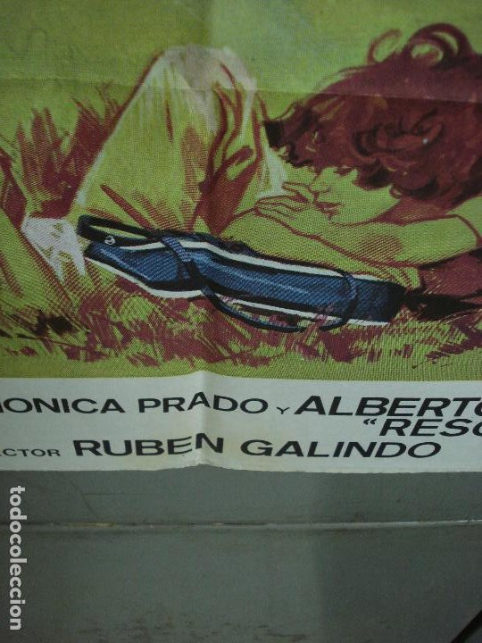 Cine: CDO 474 LA NIÑA DE LA MOCHILA AZUL PEDRITO FERNANDEZ JANO POSTER ORIGINAL 70X100 ESTRENO - Foto 4 - 195318367