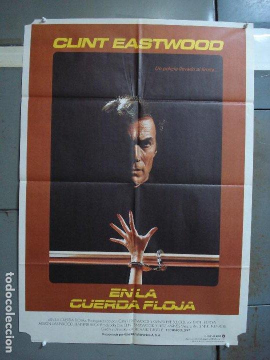 CDO 475 EN LA CUERDA FLOJA CLINT EASTWOOD GENEVIEVE BUJOLD POSTER ORIGINAL 70X100 ESTRENO (Cine - Posters y Carteles - Suspense)