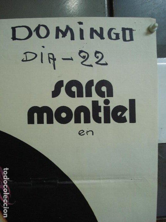 Cine: CDO 477 CINCO ALMOHADAS PARA UNA NOCHE SARA MONTIEL JANO POSTER ORIGINAL 70X100 ESTRENO - Foto 3 - 195322940