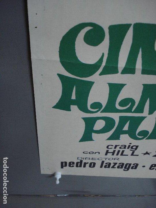 Cine: CDO 477 CINCO ALMOHADAS PARA UNA NOCHE SARA MONTIEL JANO POSTER ORIGINAL 70X100 ESTRENO - Foto 10 - 195322940