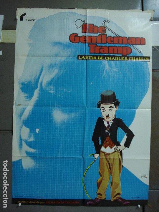 CDO 479 THE GENTLEMAN TRAMP LA VIDA DE CHARLES CHAPLIN JANO POSTER ORIGINAL 70X100 ESTRENO (Cine - Posters y Carteles - Comedia)