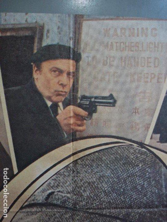 Cine: CDO 481 LA VENGANZA DE LA PANTERA ROSA PETER SELLERS POSTER ORIGINAL 70X100 estreno - Foto 2 - 195324886