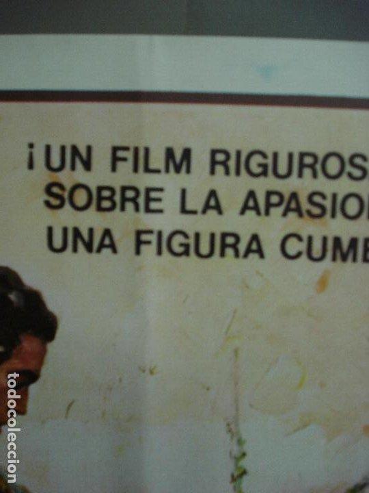 Cine: CDO 484 UN MAESTRO PACO CAMINO TOROS BALLESTER POSTER ORIGINAL 54X97 ESTRENO - Foto 3 - 195325692