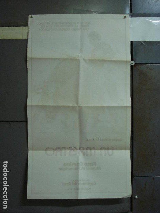 Cine: CDO 484 UN MAESTRO PACO CAMINO TOROS BALLESTER POSTER ORIGINAL 54X97 ESTRENO - Foto 8 - 195325692