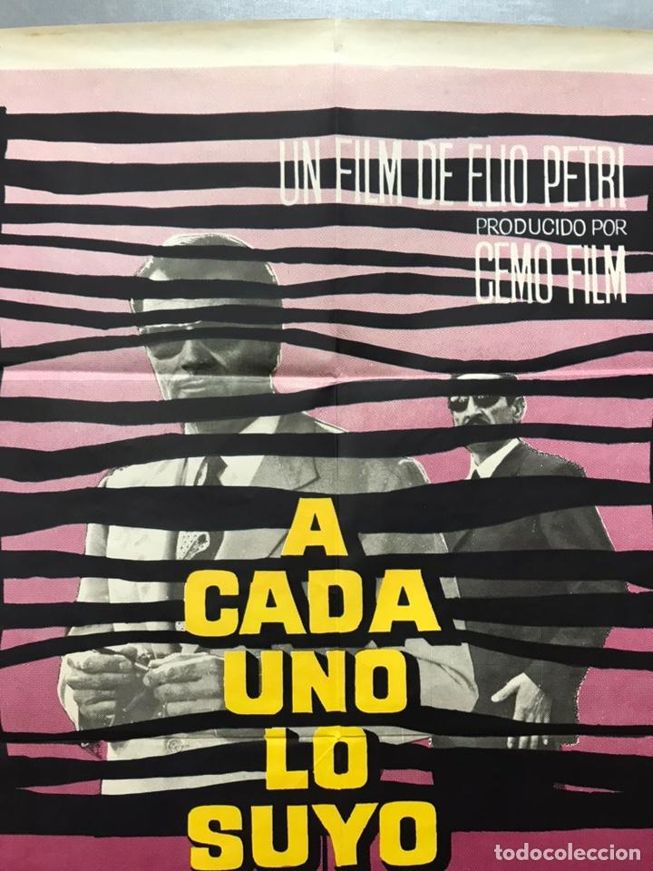 Cine: A CADA UNO LO SUYO - GIAN MARIA VOLONTE, IRENE PAPAS - AÑO 1968 - Foto 8 - 195375218