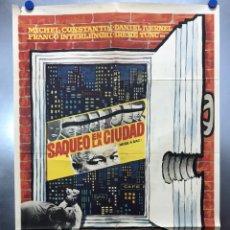 Cine: SAQUEO EN LA CIUDAD - MICHEL CONSTANTIN - AÑO 1969. Lote 195375598