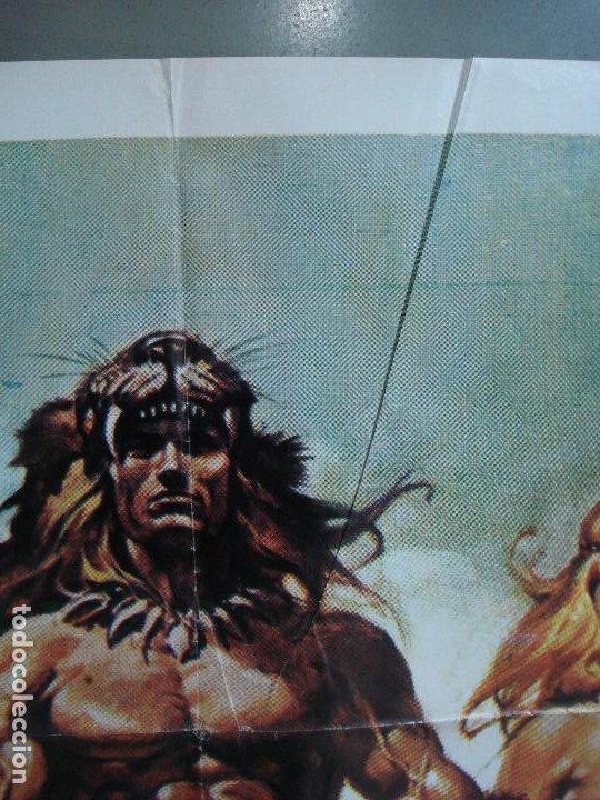 Cine: CDO 485 LA GUERRA DEL HIERRO UMBERTO LENZI CASARO POSTER ORIGINAL ESTRENO 70X100 - Foto 2 - 195377120