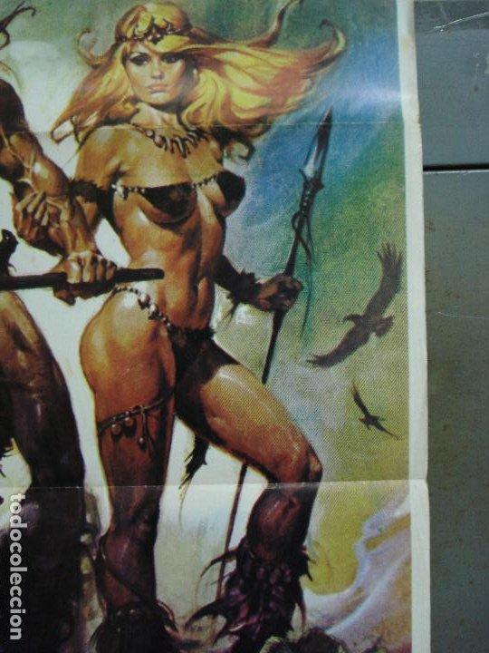 Cine: CDO 485 LA GUERRA DEL HIERRO UMBERTO LENZI CASARO POSTER ORIGINAL ESTRENO 70X100 - Foto 5 - 195377120
