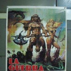 Cine: CDO 485 LA GUERRA DEL HIERRO UMBERTO LENZI CASARO POSTER ORIGINAL ESTRENO 70X100. Lote 195377120