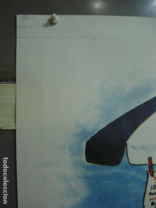 Cine: CDO 486 CON LAS BRAGAS POR LOS SUELOS FRANZ MARISCHKA POSTER ORIGINAL ESTRENO 70X100 - Foto 2 - 195379311