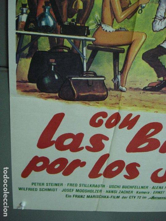 Cine: CDO 486 CON LAS BRAGAS POR LOS SUELOS FRANZ MARISCHKA POSTER ORIGINAL ESTRENO 70X100 - Foto 5 - 195379311