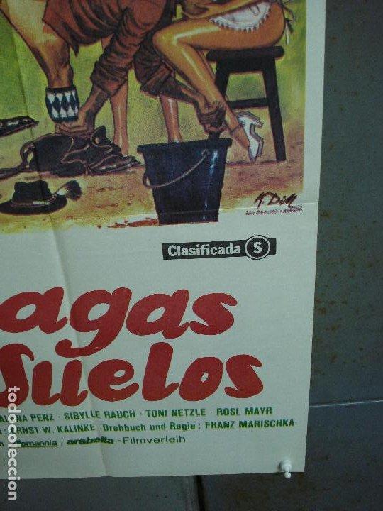 Cine: CDO 486 CON LAS BRAGAS POR LOS SUELOS FRANZ MARISCHKA POSTER ORIGINAL ESTRENO 70X100 - Foto 6 - 195379311