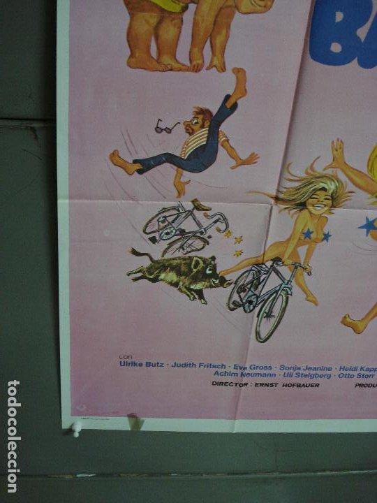 Cine: CDO 487 CUANDO LOS PECHOS BAILAN ERNST HOFBAUER BICICLETA POSTER ORIGINAL ESTRENO 70X100 - Foto 8 - 195380018