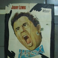 Cine: CDO 489 LIO EN LOS GRANDES ALMACENES JERRY LEWIS JILL ST JOHN POSTER ORIGINAL 70X100 ESTRENO. Lote 195386358