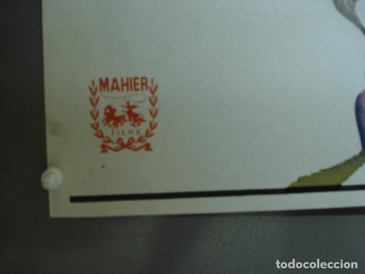 Cine: CDO 490 EL LADRON DE BAGDAD SABU MICHAEL POWELL MAC POSTER ORIGINAL 70X100 ESPAÑOL R-78 - Foto 8 - 195397716
