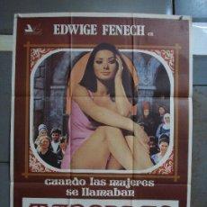 Cine: CDO 491 CUANDO LAS MUEJERES SE LLAMABAN MADONNAS EDWIGE FENECH ORIGINAL 70X100 ESTRENO. Lote 195398161