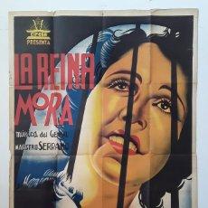 Cine: RARO CARTEL ORIGINAL LA REINA MORA - 1936 - MARIA ARIAS CIFESA MUSICA MAESTRO SERRANO RAQUEL RODRIGO. Lote 195399180