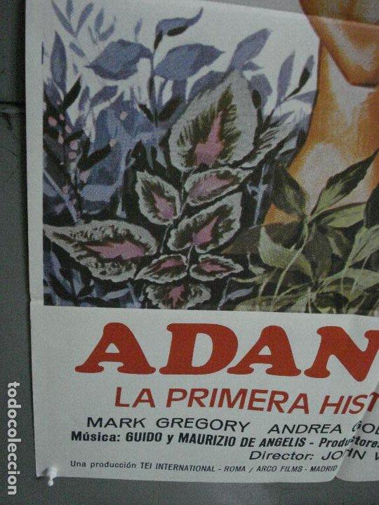 Cine: CDO 498 ADAN Y EVA MARK GREGORY ANDREA GOLDMAN POSTER ORIGINAL 70X100 ESTRENO - Foto 4 - 195408708