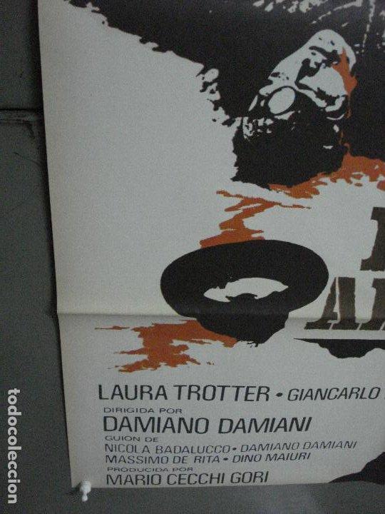 Cine: CDO 499 LA ADVERTENCIA GIULIANO GEMMA MARTIN BALSAM POSTER ORIGINAL 70X100 ESTRENO - Foto 5 - 195409111