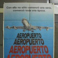 Cine: CDO 500 AEROPUERTO DEAN MARTIN BURT LANCASTER POSTER ORIGINAL 70X100 ESPAÑOL R-81. Lote 195409446