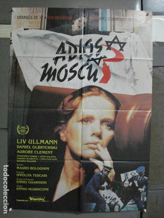 CDO 502 ADIOS MOSCU LIV ULLMAN MAURO BOLOGNINI POSTER ORIGINAL 70X100 ESTRENO (Cine- Posters y Carteles - Drama)