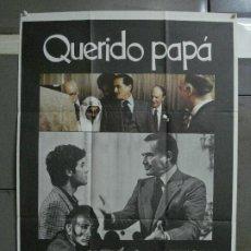 Cine: CDO 518 QUERIDO PAPA DINO RISI VITTORIO GASSMAN POSTER ORIGINAL 70X100 ESTRENO. Lote 195417370