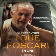 Cine: I DUE FOSCARI PLACIDO DOMINGO POSTER OPERA CINE 70X100CM MUSICAL. Lote 195461488