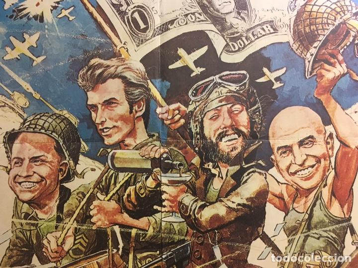 Cine: AAB95 LOS VIOLENTOS DE KELLY CLINT EASTWOOD POSTER ORIGINAL 70X100 ESTRENO - Foto 4 - 195487232