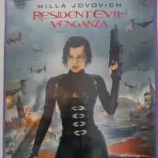 Cine: CARTEL CINE RESIDENT EVIL VENGANZA MILLA JOVOVICH. Lote 195682815